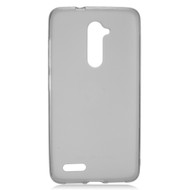 Rubberized Crystal Case for ZTE Zmax Pro / Grand X Max 2 / Imperial Max / Max Duo 4G - Smoke