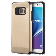 Silkee Anti Shock Hybrid Armor Case for Samsung Galaxy Note 7 - Gold