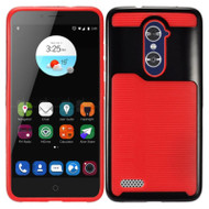 Dual Layer Slim Hybrid Case for Zmax Pro / Grand X Max 2 / Imperial Max / Max Duo 4G - Black Red