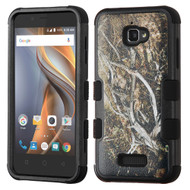 Military Grade TUFF Image Hybrid Armor Case for Coolpad Catalyst - Tree Camouflage