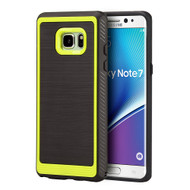 Protek Premium Brushed TPU Case for Samsung Galaxy Note 7 - Neon