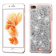 Desire Bling Bling Crystal Cover for iPhone 8 Plus / 7 Plus - Rhinestones Silver