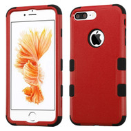 *SALE* Military Grade TUFF Hybrid Armor Case for iPhone 8 Plus / 7 Plus - Red