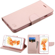*SALE* Diary Leather Wallet Case for iPhone 7 Plus - Rose Gold