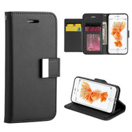 Essential Leather Wallet Stand Case for iPhone 8 / 7 - Black
