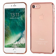 *Sale* Electroplating Clear TPU Case for iPhone 8 / 7 - Rose Gold