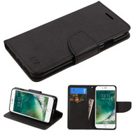 *SALE* Diary Leather Wallet Case for iPhone 8 / 7 - Black