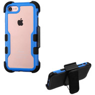 *Sale* TUFF Vivid Hybrid Armor Case with Holster for iPhone 8 / 7 - Blue