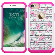TotalDefense Diamond Hybrid Case for iPhone 8 / 7 - Fresh Roses