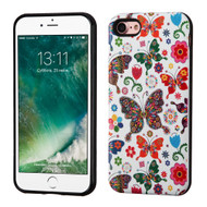 Graphic Advanced Armor Hybrid Case for iPhone 8 / 7 - Butterfly Wonderland