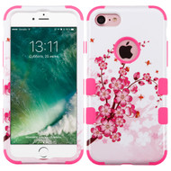 Military Grade Certified TUFF Image Hybrid Armor Case for iPhone 8 / 7 - Spring Flowers