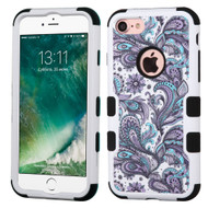 Military Grade Certified TUFF Image Hybrid Armor Case for iPhone 8 / 7 - Persian Paisley