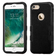 Military Grade TUFF Hybrid Armor Case for iPhone 8 / 7 - Black