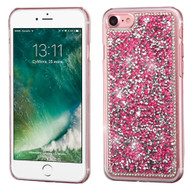 Desire Bling Bling Crystal Cover for iPhone 8 / 7 - Rhinestones Pink