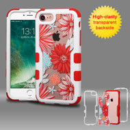 TUFF Vivid Graphic Hybrid Armor Case for iPhone 8 / 7 - Spring Daisies
