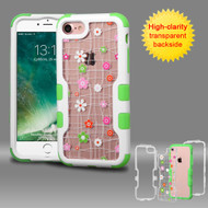 TUFF Vivid Graphic Hybrid Armor Case for iPhone 8 / 7 - Tiny Blossoms
