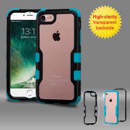 TUFF Vivid Hybrid Armor Case for iPhone 8 / 7 - Black Teal