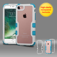 TUFF Vivid Hybrid Armor Case for iPhone 8 / 7 - White Teal