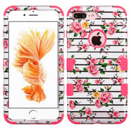 Military Grade TUFF Image Hybrid Armor Case for iPhone 8 Plus / 7 Plus - Fresh Roses