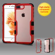 TUFF Vivid Hybrid Armor Case for iPhone 8 Plus / 7 Plus - Red