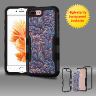 TUFF Vivid Graphic Hybrid Armor Case for iPhone 8 Plus / 7 Plus - Persian Paisley