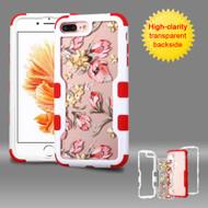 TUFF Vivid Graphic Hybrid Armor Case for iPhone 8 Plus / 7 Plus - Painted Flowers