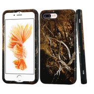 Verge Image Hybrid Case for iPhone 8 Plus / 7 Plus - Tree Camouflage