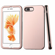 Verge Hybrid Case for iPhone 8 Plus / 7 Plus - Rose Gold