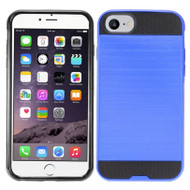 *Sale* Brushed Hybrid Armor Case for iPhone 7 - Blue