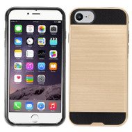 *Sale* Brushed Hybrid Armor Case for iPhone 7 - Gold