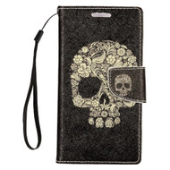 *SALE* Executive Graphic Leather Wallet Case for iPhone 8 Plus / 7 Plus - Skull