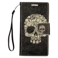 *SALE* Executive Graphic Leather Wallet Case for iPhone 8 / 7 - Skull