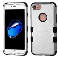 Military Grade Certified TUFF Hybrid Armor Case for iPhone 8 / 7 - Chrome