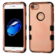 Military Grade Certified TUFF Hybrid Armor Case for iPhone 8 / 7 - Rose Gold Electroplating