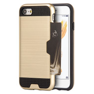 *SALE* Card To Go Hybrid Case for iPhone 8 / 7 - Gold