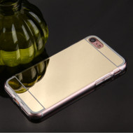 Premium Electroplated Candy Skin Cover for iPhone 8 / 7 - Gold