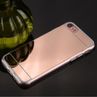 Premium Electroplated Candy Skin Cover for iPhone 8 / 7 - Rose Gold
