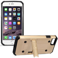 *Sale* Extreme Armor Hybrid Case with Stand for iPhone 7 - Gold