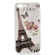Diamond Transparent TPU Case for iPhone 7 Plus - Paris Eiffel Tower