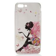 Diamond Transparent TPU Case for iPhone 7 Plus - Fairy