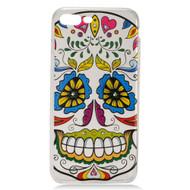 Diamond Transparent TPU Case for iPhone 7 Plus - Tangled Skull