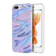*SALE* Marble TPU Case for iPhone 8 Plus / 7 Plus - Blue Purple