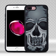 Military Grade Certified Challenger Graphic Hybrid Case for iPhone 8 Plus / 7 Plus - Skull