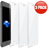 *SALE* HD Premium Round Edge Tempered Glass Screen Protector for iPhone 8 Plus / 7 Plus - 3 Pack