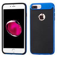 Bumper Frame Hybrid Case for iPhone 8 Plus / 7 Plus - Blue