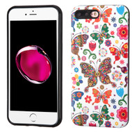 Graphic Advanced Armor Hybrid Case for iPhone 8 Plus / 7 Plus - Butterfly Wonderland