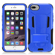 Transformer Hybrid Armor Case with Stand for iPhone 7 - Blue