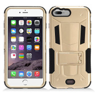 *Sale* Transformer Hybrid Armor Case with Stand for iPhone 8 Plus / 7 Plus - Gold