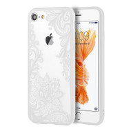 Floral Transparent Case for iPhone 8 / 7 - White