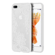 Floral Transparent Case for iPhone 8 Plus / 7 Plus - White